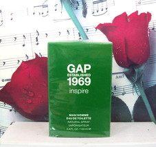GAP Established 1969 Inspire Man/Homme EDT Spray 3.4 FL. OZ. - $99.99