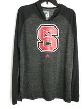 Adidas North Carolina State University NEW Ultimate Tee Long Sleeve Hood... - $22.13