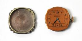 Vintage Bulova AI 15J Mechanical Wind Watch Movement Geneva Dial Not Run... - $15.83
