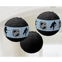 NHL Officially Licensed Paper Lantern Set of of 3 - $6.99