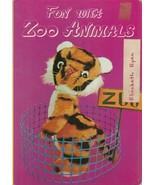 Fun With Zoo Animals 1973 Froebel Kan Co. Japan Rare Board Book Toy Photos - $10.88