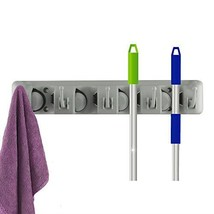 Smart&Cool Mop and Broom Holder, Wall Mounted Garden Tool Storage Tool R... - $8.70
