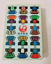 Japan Air Lines JAL Deck of Playing Cards   (#43) image 2