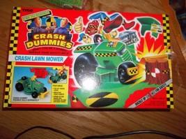 Crash Dummies Crash Lawn Mower Mib - $97.02