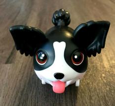 Spin Master Chubby Puppies Rare Black And White Dog Chubby Puppies And F... - $24.75