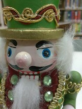 "NUTCRACKER CHRISTMAS HOLIDAY TOY FIGURINE PAINTED WOODEN 6"" - $13.10"