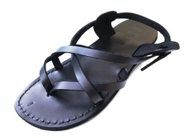Leather Sandals for Men and Women VENICE by SANDALIM Biblical Greek Summ... - $39.44 CAD+
