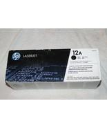 NEW SEALED!!! GENUINE HP 12a Black Toner Cartridge (HP Q2612A) FAST FREE... - $40.92