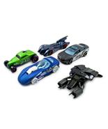 SET*5 MOVIE CAR MODELS, BATMAN HOTWHEELS SCALE 1:64, NEW - $35.59