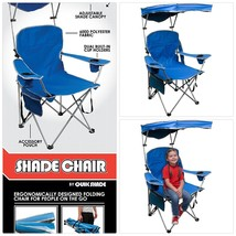 Quik Shade Adjustable Canopy Folding Camp Chair - $85.05