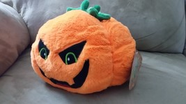 "Halloween 2017 Pumpkin Brand New Plush Stuffed Animal 8"" Sugar Loaf - $9.99"