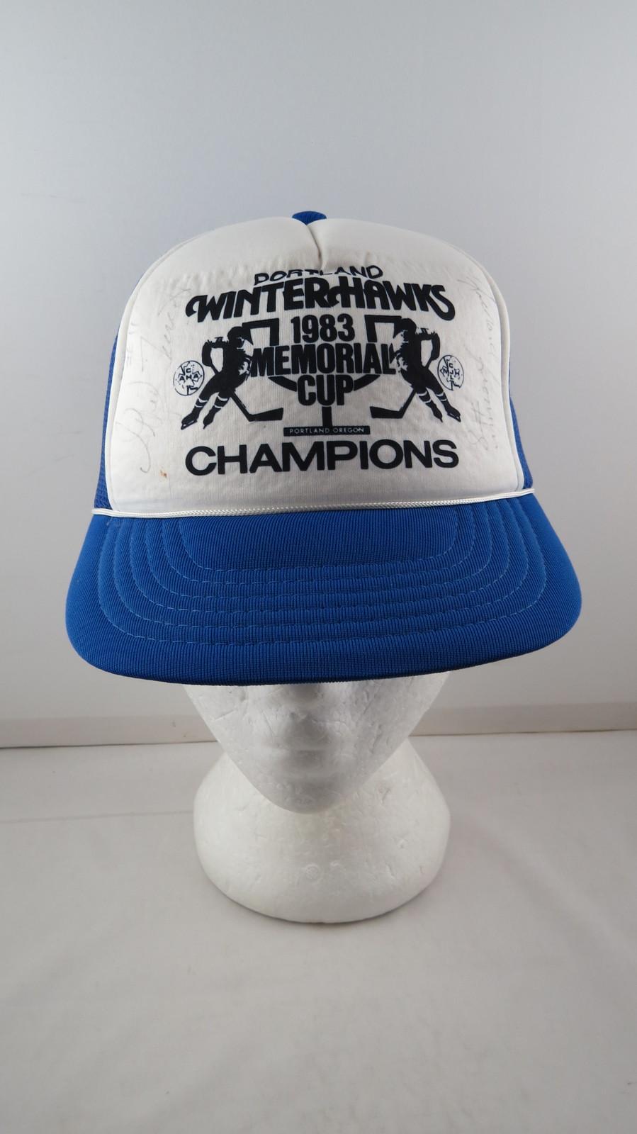 d079e88a5ce17 Portland Winterhawks Hat (VTG) - 1983 and 50 similar items