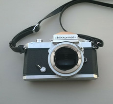 Nikon Nikkormat FT2 Camera Body only for parts not working AS IS - $39.59