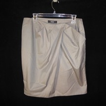 Sz 14 Victoria Secret Body By Victoria Brown Lined Skirt  34 x 20 - $16.60