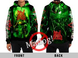 The Devil Wears Prada (Zombie) Metalcore Rock Band All Over Print Zipper Hoodie  - $57.99+