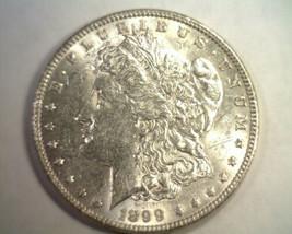 1899 MORGAN SILVER DOLLAR ABOUT UNCIRCULATED+ AU+ NICE ORIGINAL COIN BOB... - $215.00