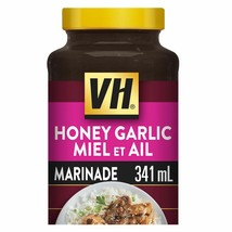 3 X Vh Honey Garlic Cooking Sauce Large Size 341ml / 11.5oz- From Canada Fresh! - $25.79