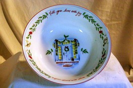 "Lenox Holiday Inspirations & Illustrations Large Round Serving Bowl 10"" NIB - $27.71"