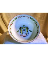 "Lenox Holiday Inspirations & Illustrations Large Round Serving Bowl 10"" NIB - $25.19"