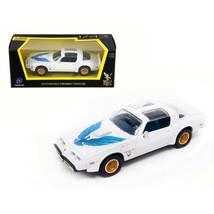 1979 Pontiac Firebird Trans Am White 1/43 Diecast Model Car by Road Signature... - $28.56