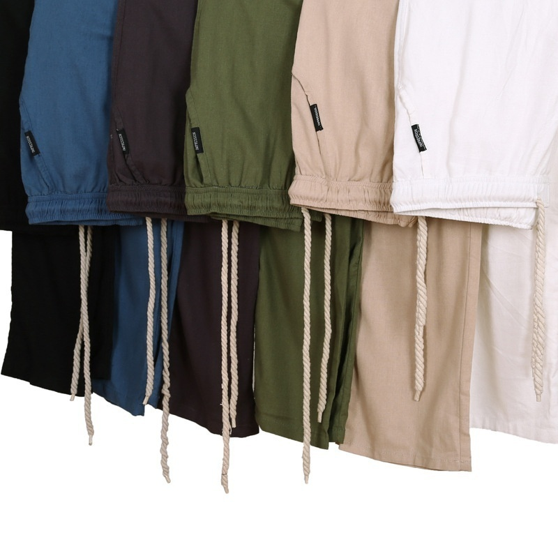 Men's Comfort Linen Casual Loose Pants image 2