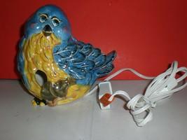 Bird's Flight Bluebird Bird Nightlight w/Plug Home Decor Cute Figurine S... - $13.54