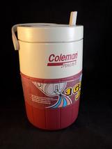 COLEMAN 1 GALLON INSULATED WATER JUG PolyLite 1 wide mouth flip top spou... - €11,95 EUR