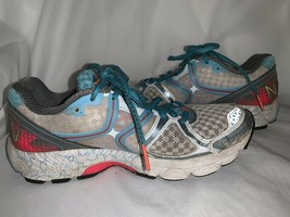 New Balance Womens Fantom Fit N2 Running Shoes Size 6.5 Teal Coral Sneakers - $18.00