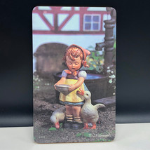 MJ HUMMEL PICTURE mouse pad wall hanging goebel west germany Ricolor goo... - $23.76