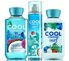 Bath & Body Works Cool Coconut Surf Trio Gift Set  - $45.95
