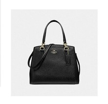 COACH MINETTA CROSSBODY HANDBAG F67091 MIDNIGHT BLACK - $188.09