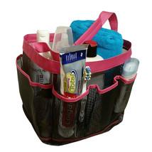 Mesh Shower Caddy Organizer 8 Pocket Tote Bag Portable Bath Accessories ... - $19.99+