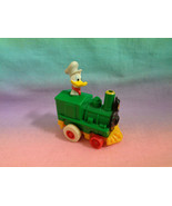 Vintage 1988 McDonald's Disney Miniature Donald Duck Pullback and Go Tra... - $1.97