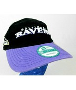 New Era 940 Baltimore Ravens Black Purple Baseball Cap Hat NFL Box Shipped - $19.99