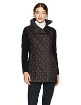 Calvin Klein Perf Womens Down Filled Asymmetric Walker Coat Medium $149 ... - $75.99