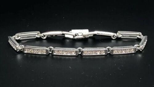 Swarovski Diamond (crystal) Link Bracelet. Stunning!!