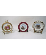 Gout De Ville and Other French Limoges China Tourist Miniatures Plates - $42.65