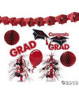 Red Graduation Decorating Kit  - $12.49