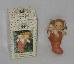 1989 Enesco Memories Of Yesterday Christmas Ornaments - $35.65