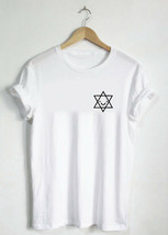 Star of David Shirt - Unisex or Womans Shirt Vneck Youth Kids Child Adult Toddle - $19.75+