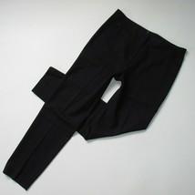 NWT Elie Tahari Jillian in Black Stretch Wool Tapered Slim Ankle Pants 8... - $62.00