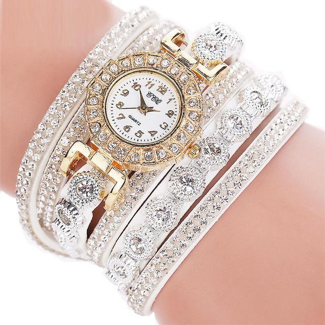 Fashion Women Leather Watch Whatever I am Late Anyway Letter Watches