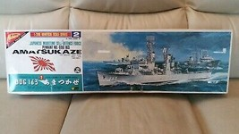 Partially assembled Nichimo 1/200 JMSDF Destroyer DDG 163 Amatsukaze Mod... - $173.85