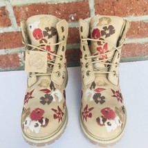 Timberland Women 6inch  Embroided Nat. - $149.95
