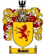 Rosati Family Crest / Coat of Arms JPG or PDF Image Download - $6.99