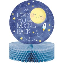 "To the Moon and Back 12"" x 9"" Honeycomb Centerpiece/Case of 6 - €41,51 EUR"