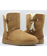 UGG Maia Women's Leather Suede Boots - Chestnut - Size 11 - NEW - $140.24