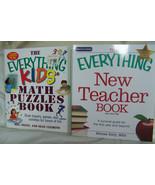 Teacher's Guide & 9 New The Everything Kids Books, RV $91.54 - $29.99