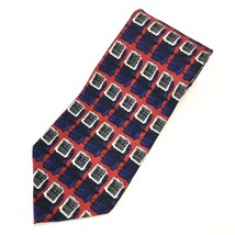 JZ Richards Men's Handmade Silk Tie 62 X 3.75 - $5.94