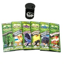 Juicy Hemp Wraps All Natural Variety Pack 6 Pack with KC Pop Top - ₨1,244.44 INR